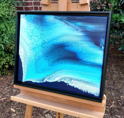 Blue Wave easel