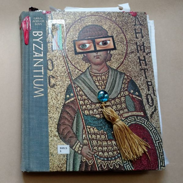 Byzantium Altered Book Cover