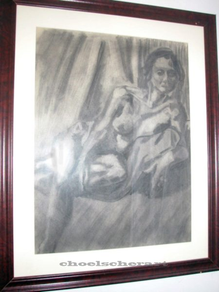 Framed Figure Study