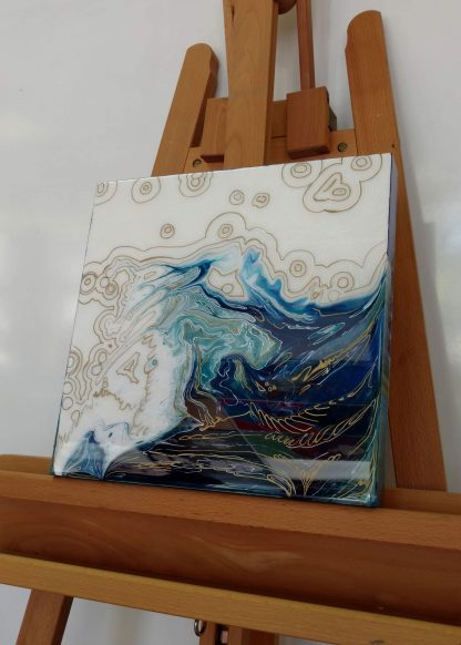 AP 36 Great Wave Easel
